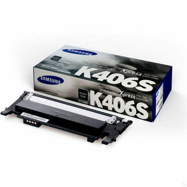 Samsung CLT-K406 must toonerikassett