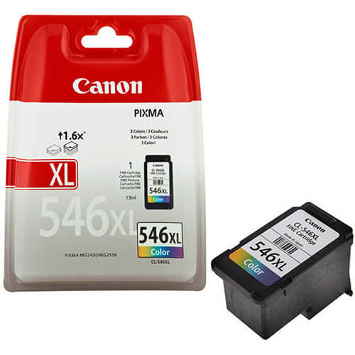 Tint Canon CL-546XL värviline 300lk
