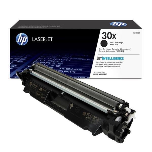 HP CF230X (30X) must toonerikassett 3500lk