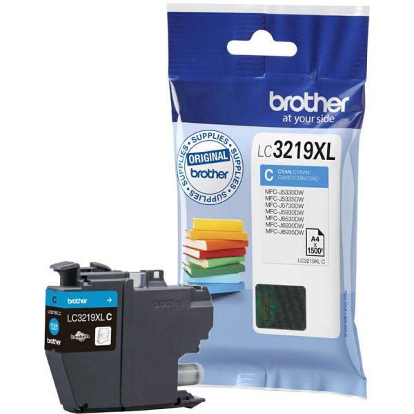 Brother LC3219XL C tsüaan tint 1500lk