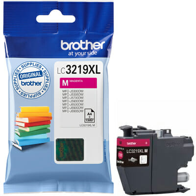 Brother LC3219XL M magenta tint 1500lk