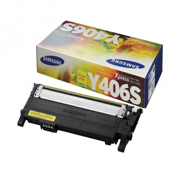 Samsung CLT-Y406S kollane toonerikassett
